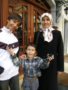 Ismail and our tour guide's family