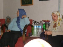 Hajjah Ruqayya and Hajjah Naziha, Mawlana's two daughters leading our zikr