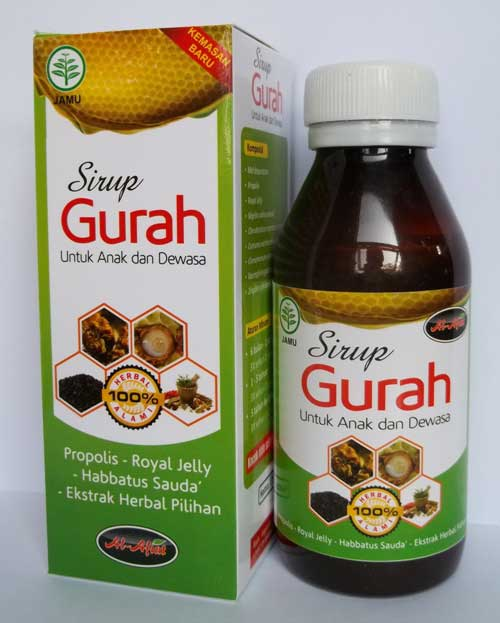 gurah syrup for children and adults 125 ml